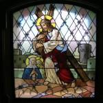 Zrestaurovaná vitráž